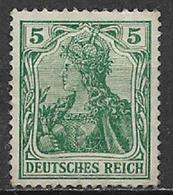 GERMANIA REICH IMPERO 1905 FIGURA ALLEGORICA DELLA GERMANIA UNIF. 83 MNH SENZA GOMMA XF - Nuovi