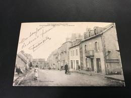 La Correze Illustrée - EYGURANDE MERLINES Gare Et Avenue - 1919 - Eygurande