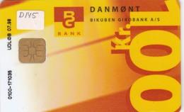Denmark, DD 145A, Bg Bank Oekonomi-eftersyn, Only 12100 Issued, 2 Scans.  07.98 - Denmark