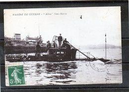 GUERRE - Alose Sous Marin - Sous-marins