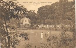 Genval-les-Eaux NA33: Le Tennis Et La Bassin De Natation 1924 - La Hulpe