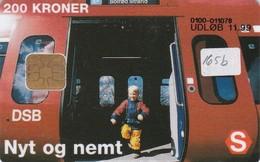 Denmark, DD 165B, 200 Kr, Dsb S-train, Only 9846 Issued, 2 Scans.   11.99, - Denmark