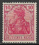 GERMANIA REICH IMPERO 1905 FIGURA ALLEGORICA DELLA GERMANIA UNIF. 84 MNH SENZA GOMMA XF - Nuovi