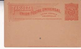 ENTIER STATIONERY TARJETA UNION POSTAL UNIVERSAL URUGUAY 2 CENTIMOS CIRCA 1900'S - BLEUP - Uruguay