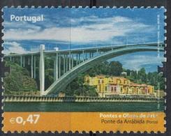 Portugal 2008 Oblitéré Used Ponts Et Œuvres D'Art Pont De Arrábida Porto SU - 1910-... République