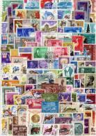 Topics Stamps Lot Rumänien 125 Verschiedene Marken O 50€ Sortiment Kunst Sport Technik Natur Olympic Set Of Romania - Timbres