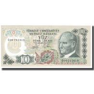 Billet, Turquie, 100 Lira, L.1970, 1970-10-14, KM:189a, NEUF - Turkey