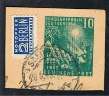 1949 7. Sept. Erster D. Bundestag Mi DE 111  Sn DE 665 Yt DE 1 Sg DE 1033 AFA DE 1074 Un DE 1 Gest. O - BRD