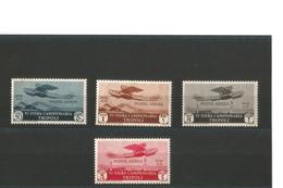Italie Tripoli 1932  PA N° 21 à 24 Neufs ** - Tripolitania
