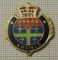 ANTIBES BLASON Dpt 06 ALPES MARITIMES - Steden