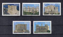 Malta - 2006 - Castelli E Fortificazioni - 5 Valori - Nuovi - Vedi Foto - (FDC15872) - Malta