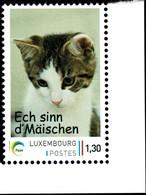 2016 Chat, Katze, Cat, Timbre Personnalisé, Michel 2019: 2092  1,30€ - Ungebraucht