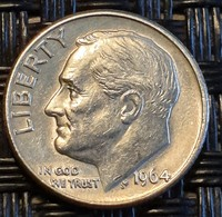United States 1 Dime 1964  - Silver - Bondsuitgaven