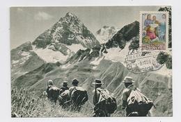 CARTE MAXIMUM CM Card USSR RUSSIA Tourist Climber Climbing Mountain Caucasus Sport - 1923-1991 URSS