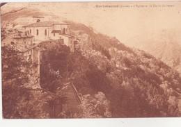 CPA - Rochetaillée - L'église Et Le Ravin De Janon - Rochetaillee