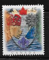 CANADA 1996, # 1614,  CANADIAN HERALDRY Used - 1952-.... Règne D'Elizabeth II