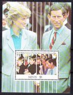 Princess Diana / Lady Di - Nevis 1991 / MNH - Celebrità