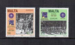Malta - 2007 - Europa - Scouts - 2 Valori - Nuovi - Vedi Foto - (FDC15877) - Malta