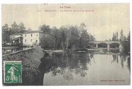 Réalmont Le Pont Et Le Moulin De Gasalès - Realmont