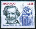 Monaco 2013 - Giuseppe Verdi - MNH - Music
