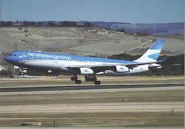 Aerolineas Argentinas Airbus A340 LV-CSE - 1946-....: Era Moderna