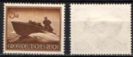 GERMANIA TERZO REICH - 1944 - MOTOVEDETTA - SENZA GOMMA - Duitsland