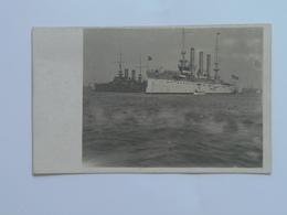 K.U.K. Kriegsmarine Marine Pola Foto Photo SMS 175 1906 USS Brooklyn - Warships