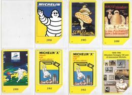 7-CARTES-ITALIE-MAGNETIQUE-THEME MICHELIN-100 ANS-UTILISE TBE-RARE - Italie