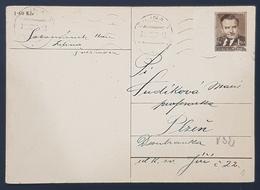 1957 Post Card, Žilina - Plzen, Czechoslavakia, Československo - Tschechoslowakei/CSSR