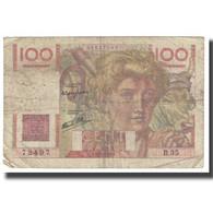 France, 100 Francs, Jeune Paysan, 1946, P. Rousseau And R. Favre-Gilly - 1871-1952 Antichi Franchi Circolanti Nel XX Secolo