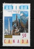 CANADA 2005, USED #2116, Alberta Centennial Of Entry In Confederation - 1952-.... Règne D'Elizabeth II