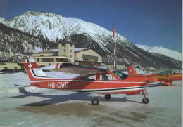 Flugplatz Samedan - Cessna  F177RG Cardinal HB-CWD - 1946-....: Era Moderna
