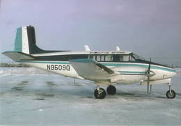 Executive Airlines Beechcraft Queen Air Model 65 N9509Q At Toronto - 1946-....: Era Moderna