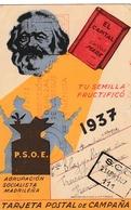 1937 TARJETA BRIGADAS INTERNACIONALES  ELA126 - 1931-Hoy: 2ª República - ... Juan Carlos I