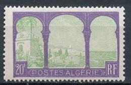 Algérie - Algerien - Algeria 1927-30 Y&T N°85 - Michel N°86 (o) - 20f Vue De Mustapha - Algérie (1924-1962)