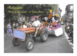 Rabastens Fètes Du 15 Aout Le Corso Fleuri Char Walt Disney Tracteur Massey Ferguson - Rabastens