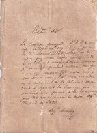 E6293 CUBA SPAIN 1829 SOLCITUD DE LICENCIA PARA EJERCER DE MEDICO MEDICINE MEDICINA. - Historical Documents