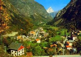 Antey St. Andrè - Valle D'osta - Panorama E Monte Cervino - Formato Grande Non Viaggiata – E 12 - Non Classificati