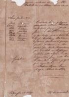 E6298 CUBA SPAIN 1860 PASAPORTE PARA CUBA EXPEDIDO EN SIERRA LEONA. DEFECTOS VISIBLES. - Historical Documents