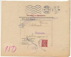 BuM (IMG2979) - Böhmen Und Mähren (1941) Brünn 1 - Brno 1 / Brünn 20 - Brno 20 (letter) Local Tariff: 0,80 K - Böhmen Und Mähren