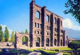 Aosta - Teatro Romano - Formato Grande Non Viaggiata – E 12 - Non Classificati