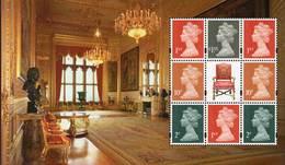 GREAT BRITAIN 2017 Windsor Castle Prestige Booklet Pane U3011c - Booklets