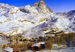 Breuil Cervinia - Valle D'aosta - Panorama Invernale - Formato Grande Non Viaggiata – E 12 - Italy