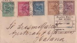 1930-FDC-21 CUBA REPUBLICA 1930 FDC JUEGOS DEPORTIVOS CENTROAMERICANOS, ATLETISMO, ATHLETISM - FDC