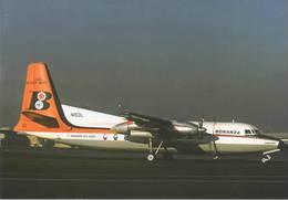 Bonanza Air Lines Fairchild F-27A N153L At LAX - 1946-....: Ere Moderne