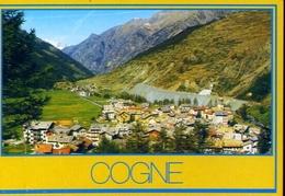 Cogne - Panorama - Sfondo M.bianco - Formato Grande Non Viaggiata – E 12 - Unclassified