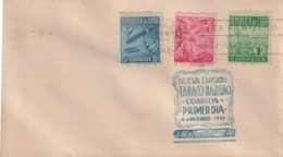 1948-FDC-131 CUBA REPUBLICA 1948 FDC PROPAGANDA DEL TABACO TOBACCO SECOND ISSUE - FDC
