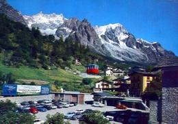Courmayeur - La Palud - Stazione Funivia M.bianco - Formato Grande Viaggiata – E 12 - Non Classificati