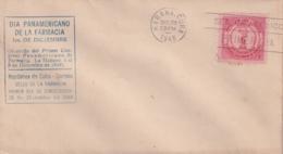 1948-FDC-135 CUBA REPUBLICA 1948 CONGRESO PANAMERICANO DE FARMACIA PHARMACY DRUG STORE MEDICINE - FDC