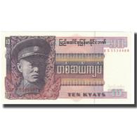 Billet, Birmanie, 10 Kyats, KM:58, NEUF - Myanmar